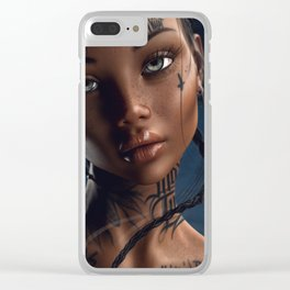 fatalism88 Clear iPhone Case
