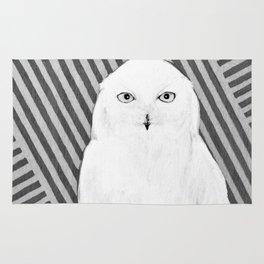 White Owl Rug