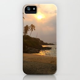 Kovalam Beach Sunset iPhone Case