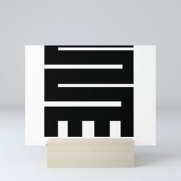 Adinkra Gear Logo Mini Art Print