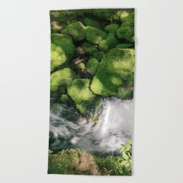 Feel the Wetness in the Air Beach Towel