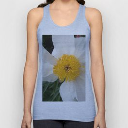 White Beauty by Teresa Thompson Unisex Tank Top