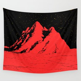 Pico rosso Wall Tapestry