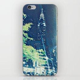 Chrysler Building in Ukiyo-e Style iPhone Skin