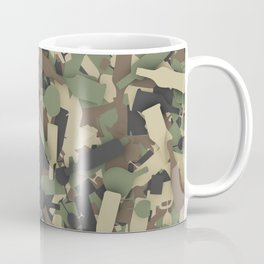 Forest alcohol camouflage Coffee Mug