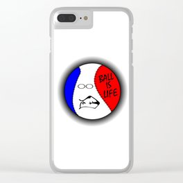 Ball Is Life 2 Clear iPhone Case