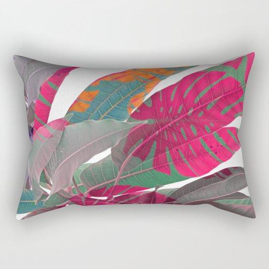 Tropical abstract(5) Rectangular Pillow