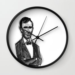Abraham Lincoln Don't Have Time. Wall Clock
