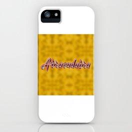 Abracadabra - Magic Spell iPhone Case