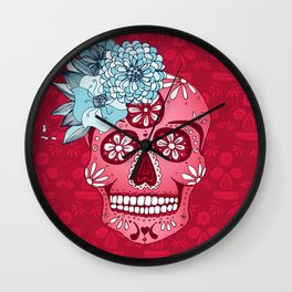 Cotton Sugar Wall Clock