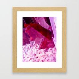 Follow the Red Brick Road Framed Art Print