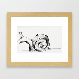 Slow and Steady Framed Art Print