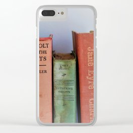 Wuthering Heights and Jane Eyre Clear iPhone Case