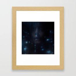 Érosions Framed Art Print