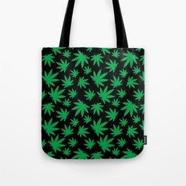 Weed Leaf Pattern  Tote Bag