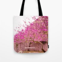 once upon a  time Tote Bags featuring once upon a time by Hello Twiggs