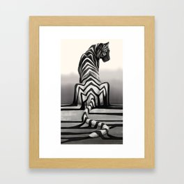 Shadow Fall Framed Art Print