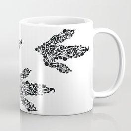 Fossil Track Coffee Mug