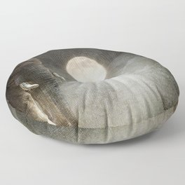Elephant Moon Floor Pillow