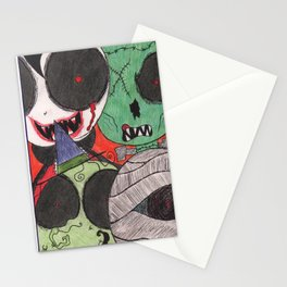 Ghoulish Guests Stationery Cards