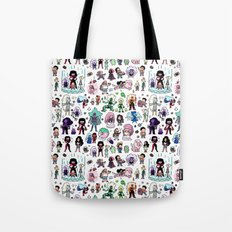 Cute Steven Universe Doodle Tote Bag