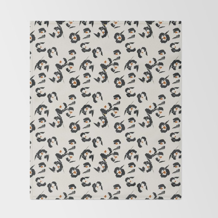 LA VILLE WILDFLOWER Throw Blanket
