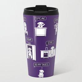 Common Commands Metal Travel Mug