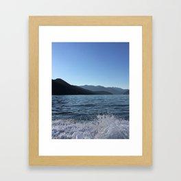 Ocean Calm IV Framed Art Print