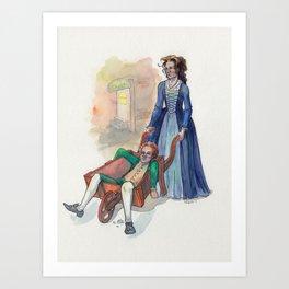 Hambarrow Art Print