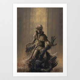 The Hunt and The Prey Art Print