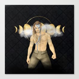 Pictish Warrior Canvas Print