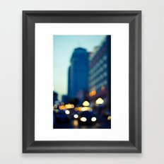 Downtown Framed Art Print