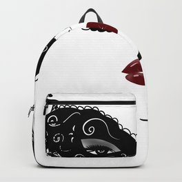 Masquerade mask,fashion design Backpack