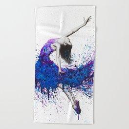 Evening Sky Dancer Beach Towel