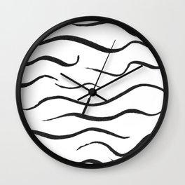 A Pretty Little Line Wall Clock
