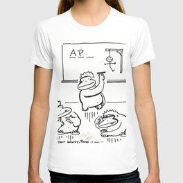 Apes Play Hangman T-shirt