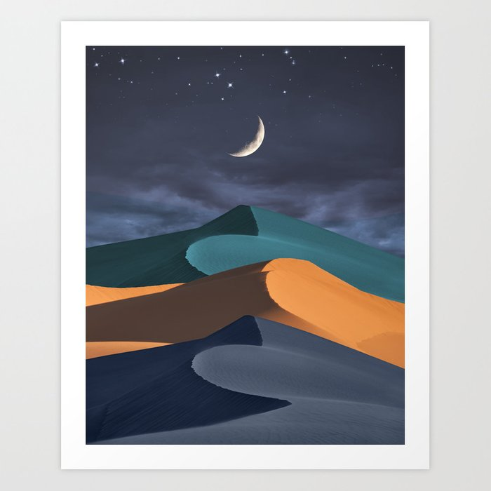 Night Moves Art Print