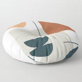 Minimal Shapes No.38 Floor Pillow