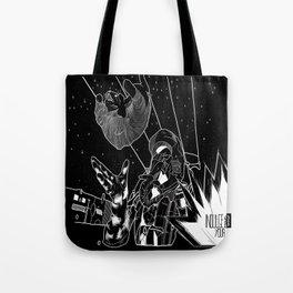 'INDULGE'   Space|Astronaut|Cat|Comix|Black&White Tote Bag