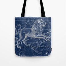 Leo sky star map Tote Bag