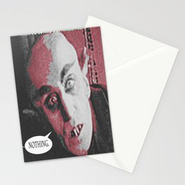 "'Count Orlock, the Vampire #2' from "" Nosferatu vs. Father Pipecock & Sister Funk (2014)"" Stationery Cards"