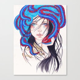 Fearless Canvas Print