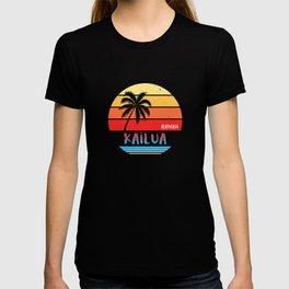 Kailua Oahu Hawaii Gift design T-shirt