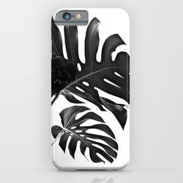Tropical Monstera Finesse #2 #minimal #decor #art #society6 iPhone Case