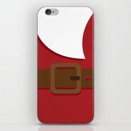 Santa Xmas iPhone Skin