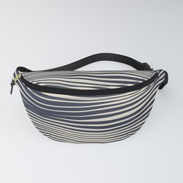 Waving Lines Fanny Pack