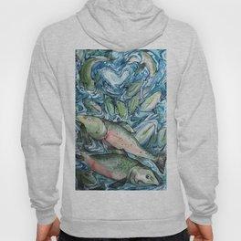 Salmon Hoody