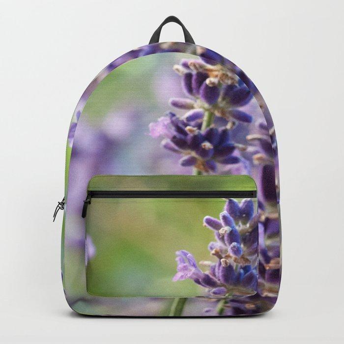 Lavender Flowers #1 #floral #art #society6 Backpack