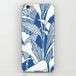 Tropical Blues iPhone Skin