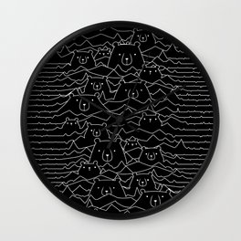 Woof Division Wall Clock